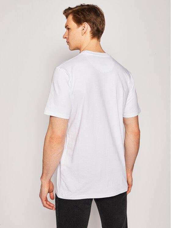 PROSTO. PROSTO. T-Shirt KLASYK Darkbrick 8616 Λευκό Regular Fit