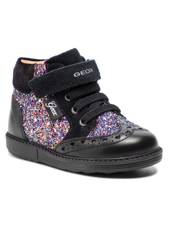Geox Geox Kotníková obuv H Hynde G. B B842FB 085EW C0618 S Černá