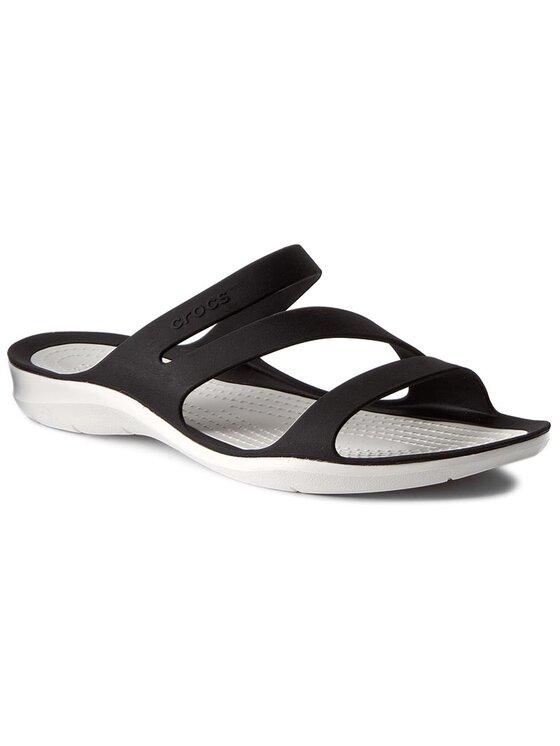 Crocs Crocs Pantoletten Swiftwater Sandal W 203998 Schwarz