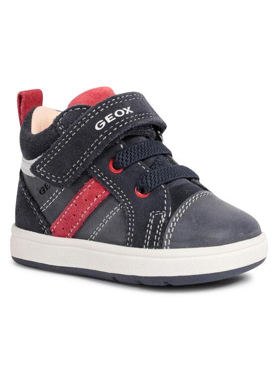Geox Auliniai batai B Biglia B. A B044DA 0CL22 C4244 Tamsiai mėlyna