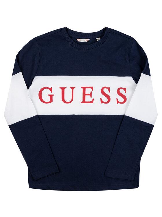Guess Guess Μπλουζάκι L93I11 K82E0 Σκούρο μπλε Regular Fit