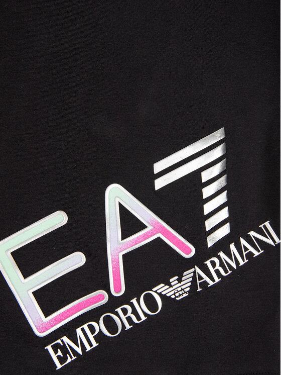 EA7 Emporio Armani EA7 Emporio Armani Marškinėliai 3HFT54 FJ22Z 1200 Juoda Regular Fit