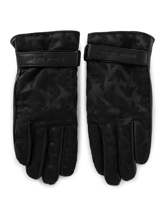 Emporio Armani Emporio Armani Мъжки ръкавици 624522 9A249 00020 Черен