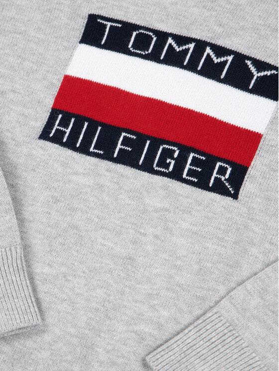 Tommy Hilfiger Tommy Hilfiger Maglione Essential Logo KB0KB05447 M Grigio Regular Fit