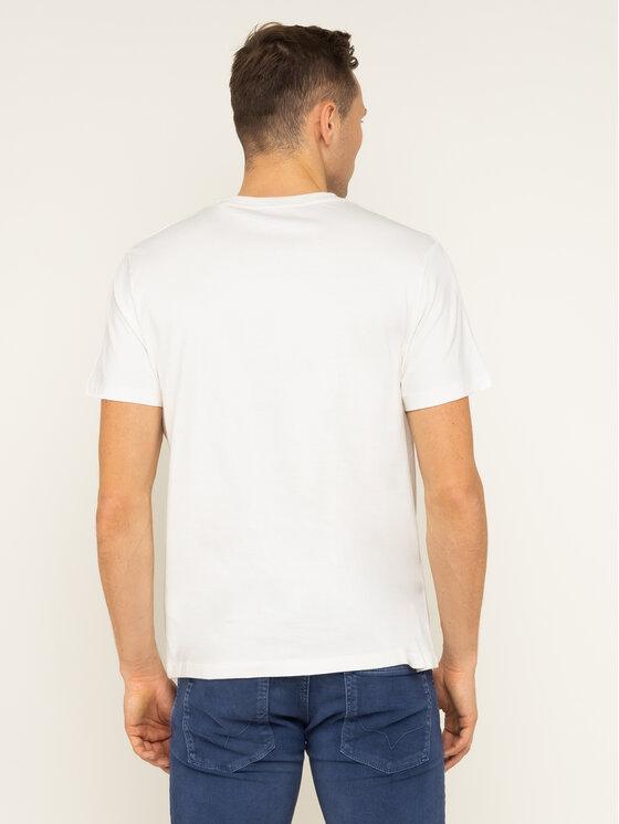 Pepe Jeans Pepe Jeans Marškinėliai Ben PM506903 Smėlio Regular Fit
