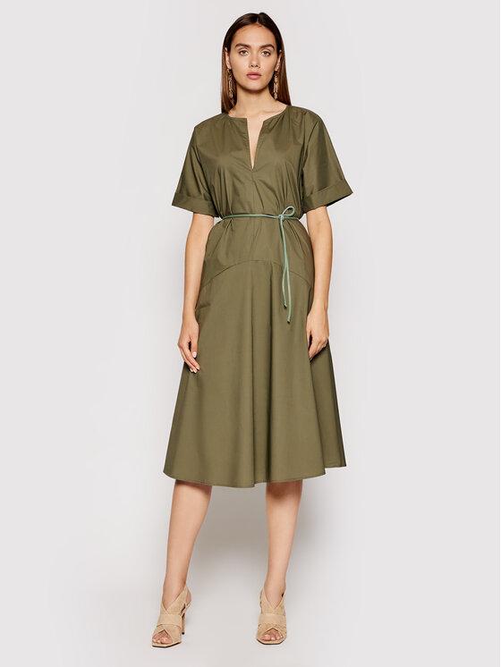 Imperial Kasdieninė suknelė ABTWBGV Žalia Regular Fit