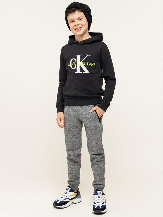 Calvin Klein Jeans Calvin Klein Jeans Bluza IB0IB00178 Czarny Regular Fit