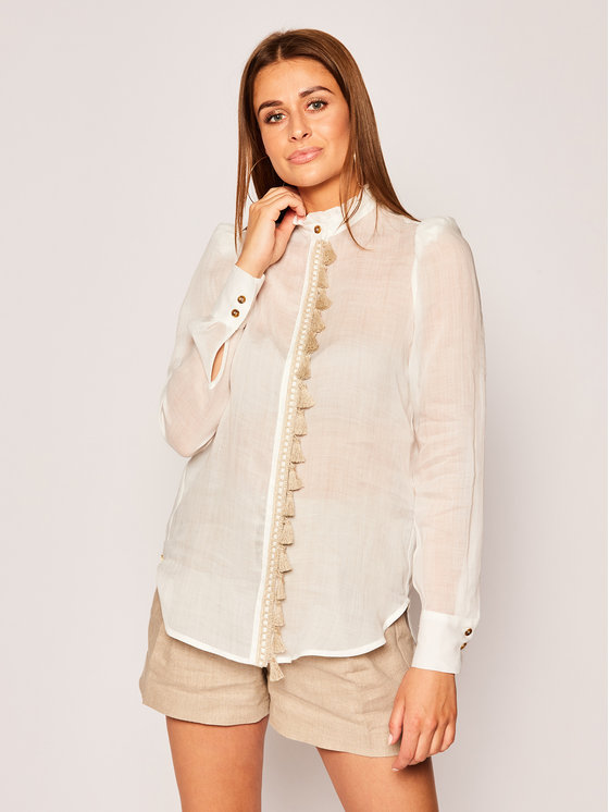 Manila Grace Marškiniai C477RU Balta Regular Fit