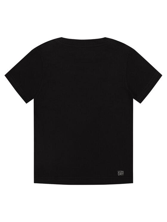 Lacoste Lacoste Тишърт TJ8811 Черен Regular Fit