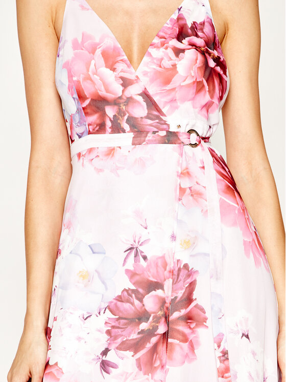 Guess Guess Φόρεμα καλοκαιρινό JENNIFER LOPEZ 0GG740 9293Z Ροζ Regular Fit
