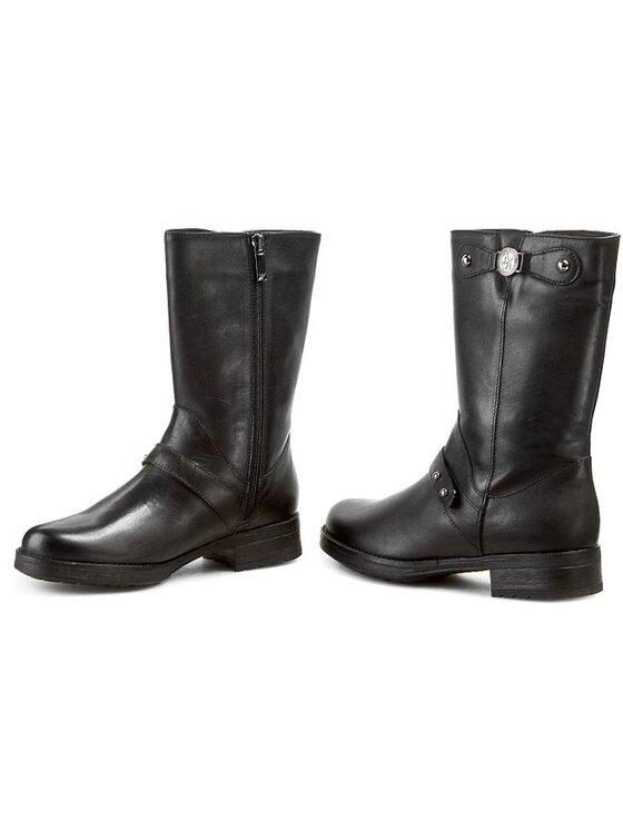 Armani Jeans Armani Jeans Členková obuv Z55E1 61 12 Čierna
