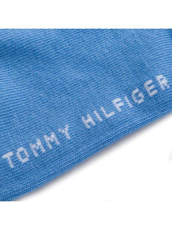 Tommy Hilfiger Tommy Hilfiger Zestaw 2 par niskich skarpet dziecięcych 301390 Niebieski
