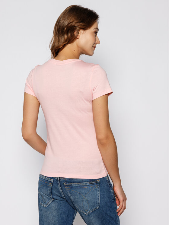 Calvin Klein Jeans Calvin Klein Jeans Тишърт Institutional Logo J20J213127 Розов Regular Fit