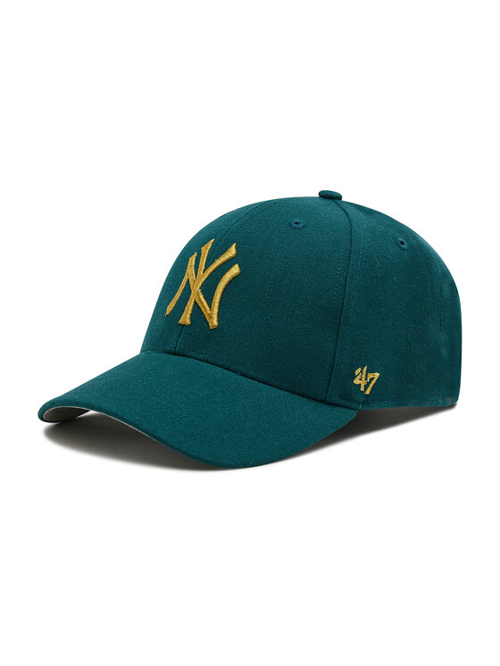 47 Brand Kepurė su snapeliu New York Yankees B-MTLCS17WBP-PG Žalia