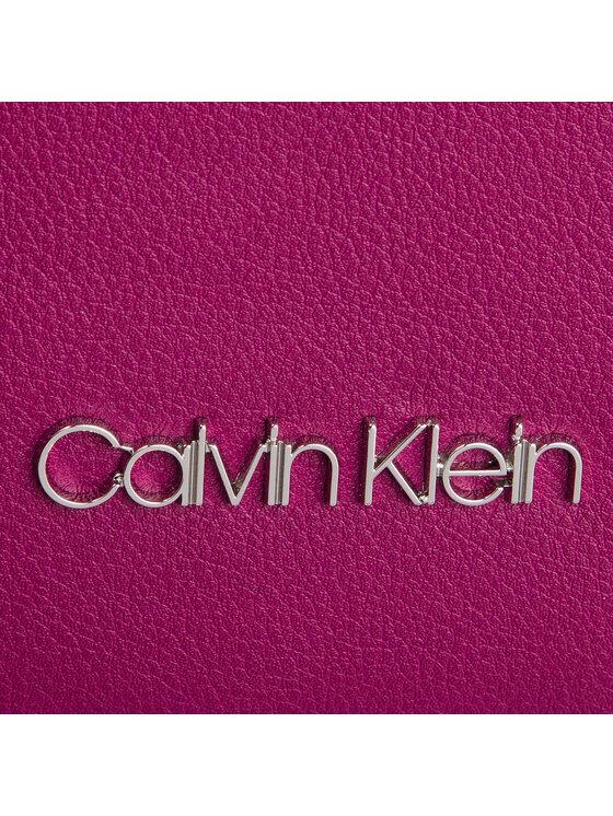 Calvin Klein Calvin Klein Torebka Slide Top Handle Tr K60K605196 Różowy