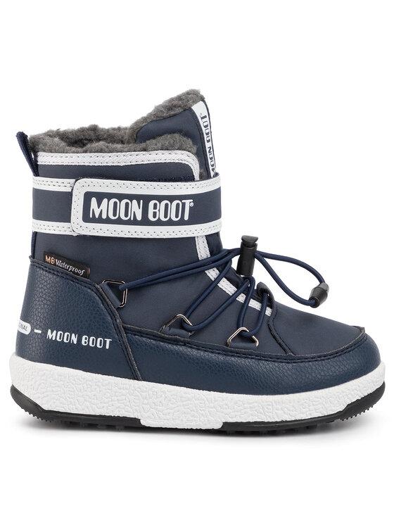 Moon Boot Moon Boot Cizme de zăpadă Jr Boy Boot Wp 34051600003 M Bleumarin