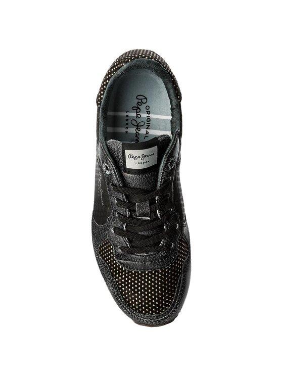 Pepe Jeans Pepe Jeans Laisvalaikio batai Verona Remake PLS30537 Juoda