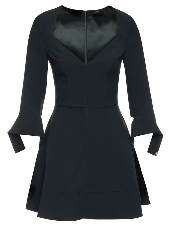 Elisabetta Franchi Elisabetta Franchi Φόρεμα κοκτέιλ AB-949-96E2-V239 Πράσινο Regular Fit