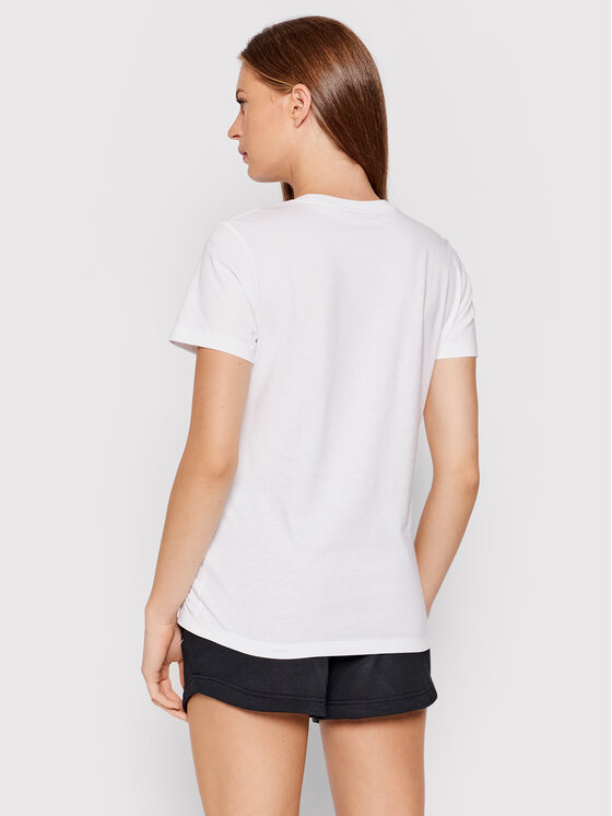 Nike Nike T-Shirt Sportswear CZ7339 Biały Standard Fit