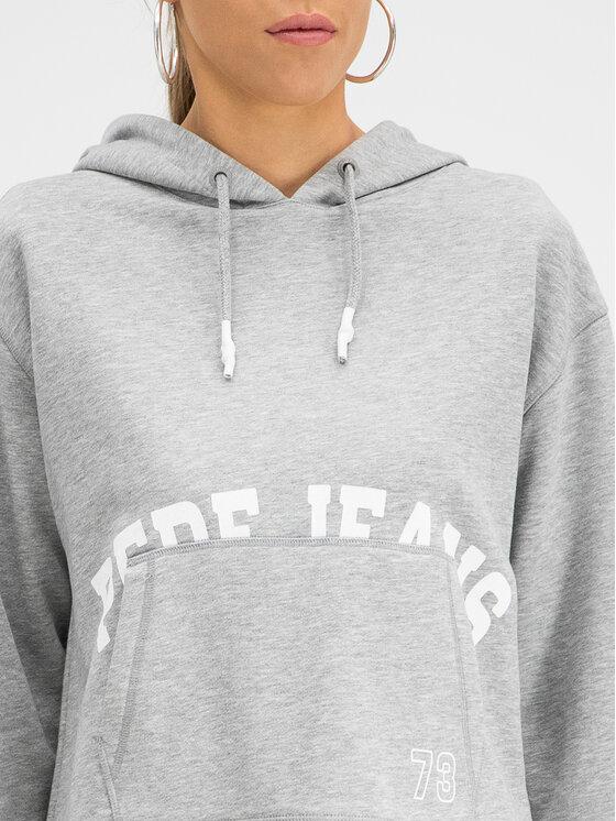 Pepe Jeans Pepe Jeans Sweatshirt Sol PL580834 Gris Regular Fit