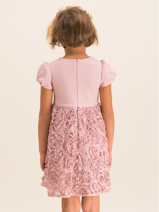 Mayoral Mayoral Elegantné šaty 4920 Ružová Regular Fit