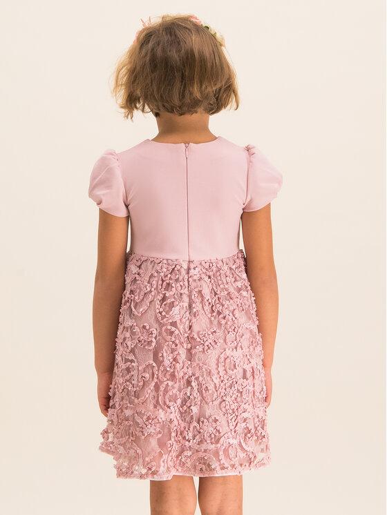 Mayoral Mayoral Sukienka elegancka 4920 Różowy Regular Fit