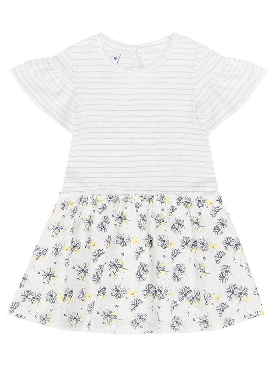 Primigi Primigi Každodenné šaty Little Gipsy Soul 43111521 Biela Regular Fit