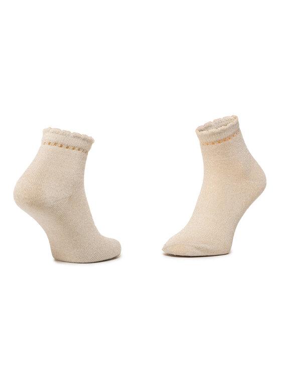 Mayoral Mayoral Sada 2 párů dětských vysokých ponožek 10787 Bílá