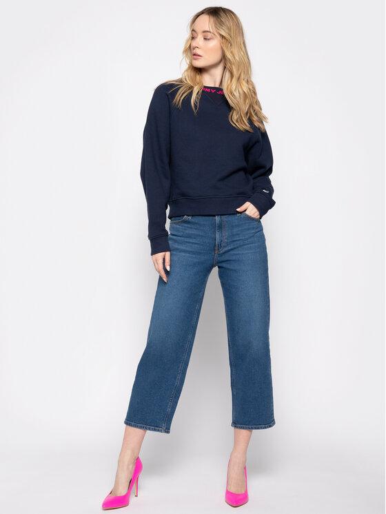Tommy Jeans Tommy Jeans Felpa Tjw Branded DW0DW07554 Blu scuro Relaxed Fit