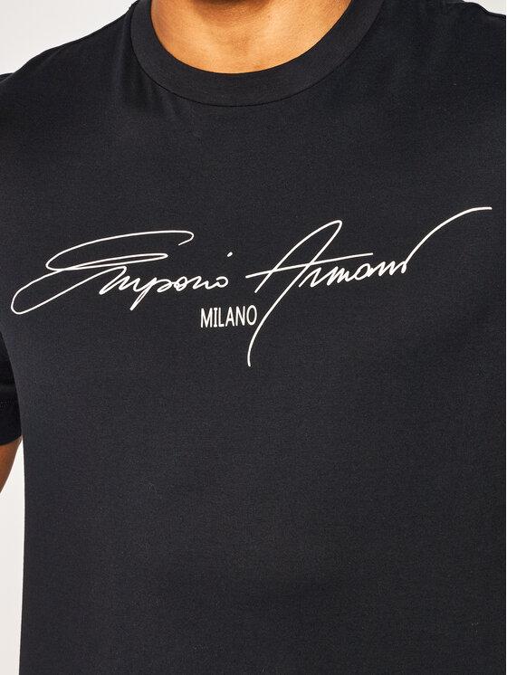 Emporio Armani Emporio Armani Marškinėliai 3H1TN1 1JCQZ G940 Tamsiai mėlyna Regular Fit