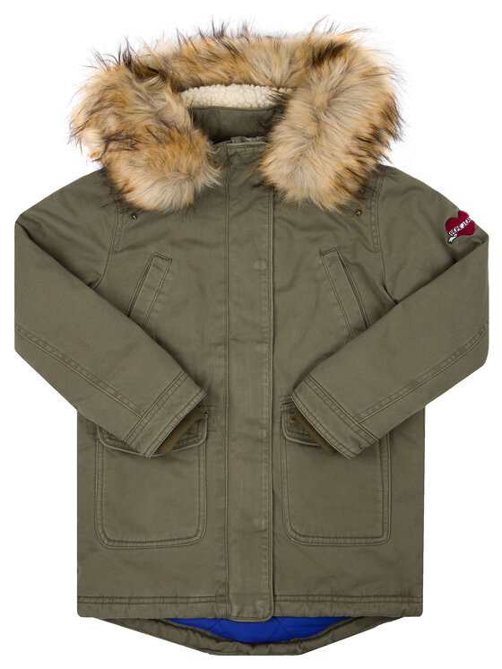 Pepe Jeans Pepe Jeans Giubbotto invernale Hydra PG400862 Verde Regular Fit