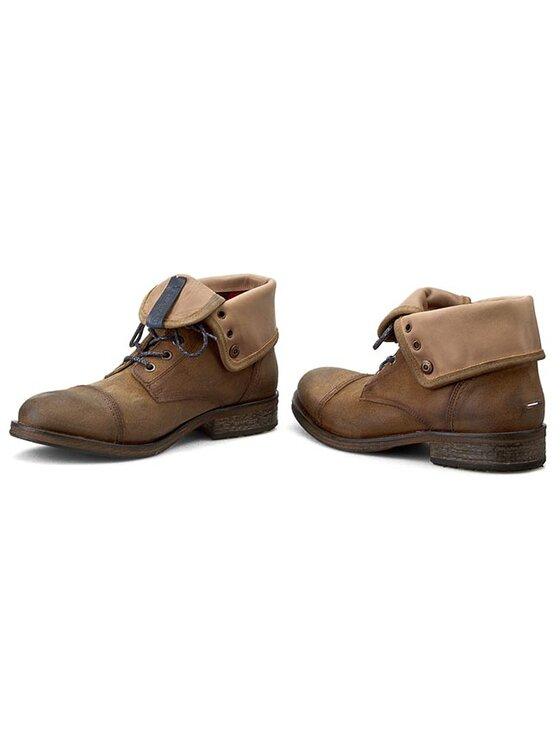 Tommy Hilfiger Tommy Hilfiger Μπότες DENIM Dillan 1B EM56820088 Καφέ