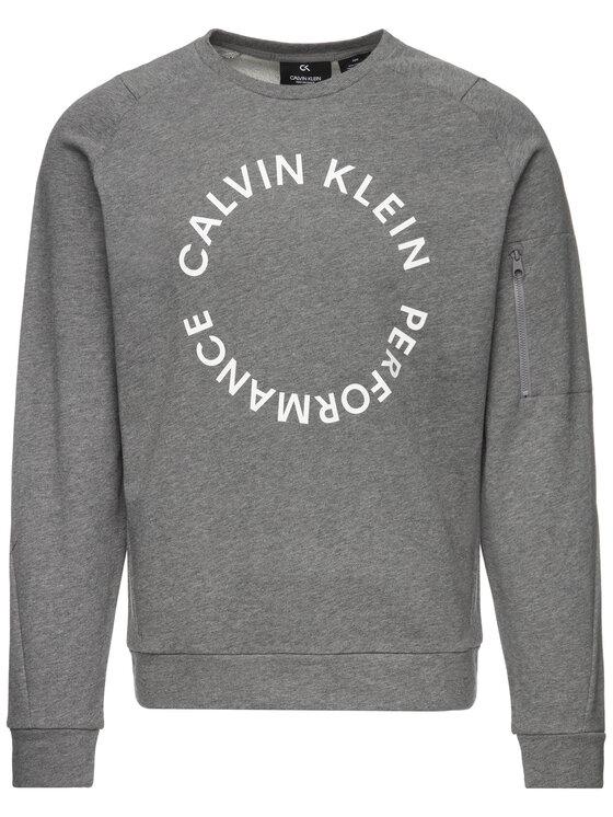 Calvin Klein Performance Calvin Klein Performance Felpa 00GMF9W349 Grigio Regular Fit