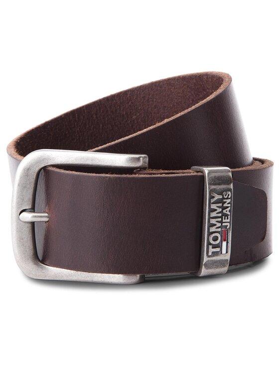 Tommy Jeans Tommy Jeans Cintura da uomo Tjm Metal Loop Belt AM0AM03491 85 Marrone