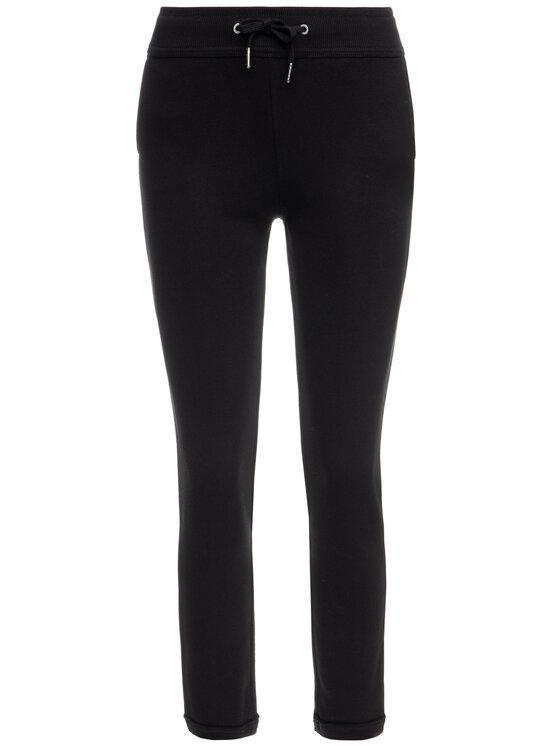 Calvin Klein Jeans Calvin Klein Jeans Долнище анцуг Raw Hem J20J212215 Черен Regular Fit