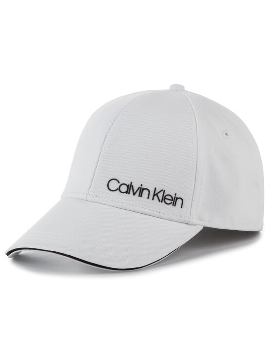 Calvin Klein Calvin Klein Шапка с козирка Side Logo Cap K60K605515 Бял