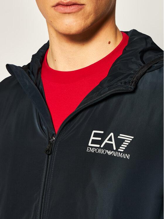 EA7 Emporio Armani EA7 Emporio Armani Übergangsjacke 8NPB04 PNN7Z 1578 Dunkelblau Regular Fit