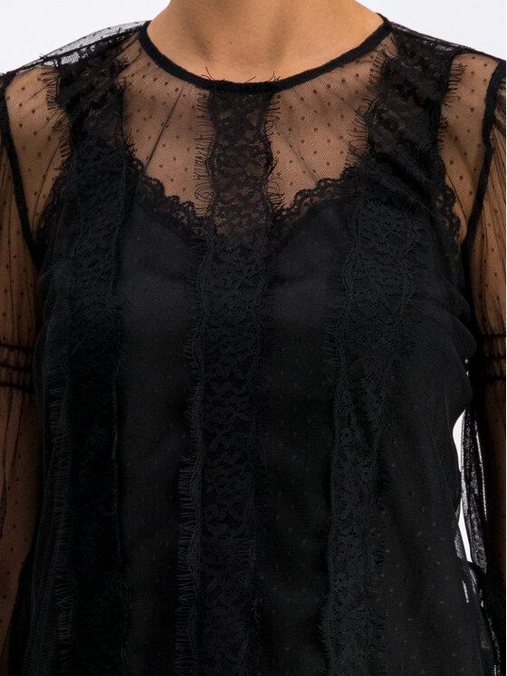 Silvian Heach Silvian Heach Μπλουζάκι CVA19009BL Μαύρο Regular Fit