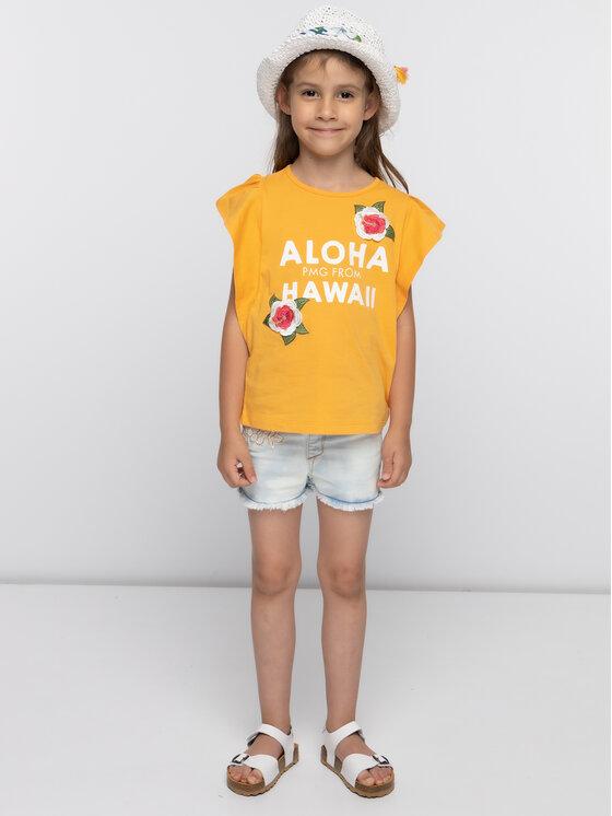 Primigi Primigi Póló Jersey 43222631 Narancssárga Regular Fit