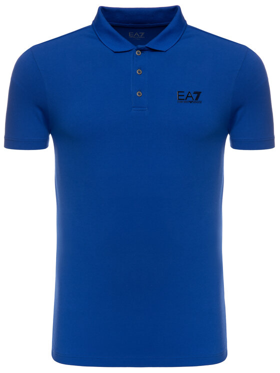 EA7 Emporio Armani EA7 Emporio Armani Polo 3GPF52 PJ04Z 1582 Bleu Regular Fit