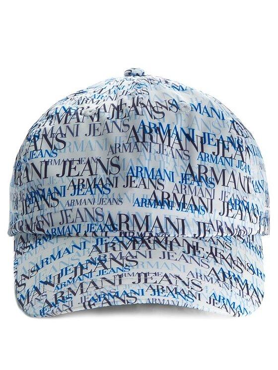 Armani Jeans Armani Jeans Kepurė su snapeliu A6417 T1 3W Balta