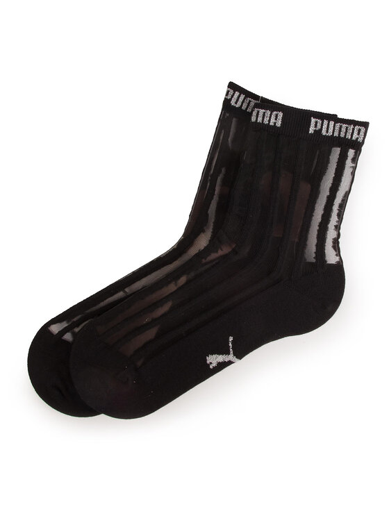 Puma Puma 2 pár hosszú szárú női zokni 907366 Fekete