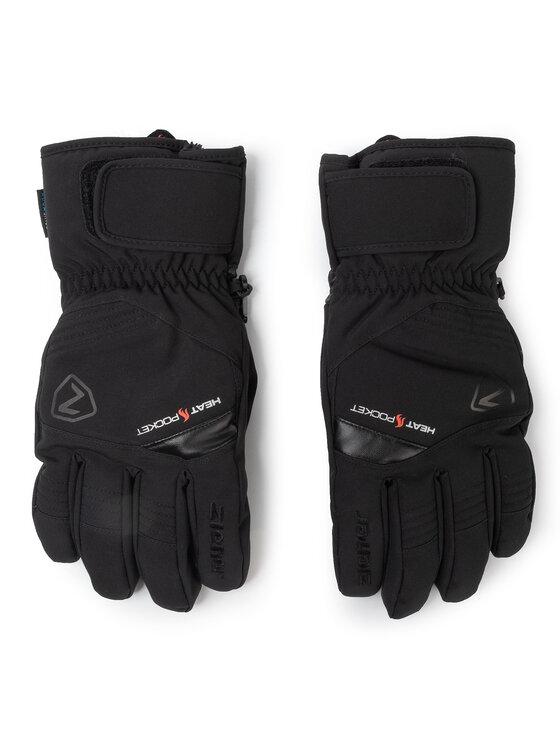 Ziener Slidinėjimo pirštinės Glim As(R) Glove Ski Alpine 801054 Juoda