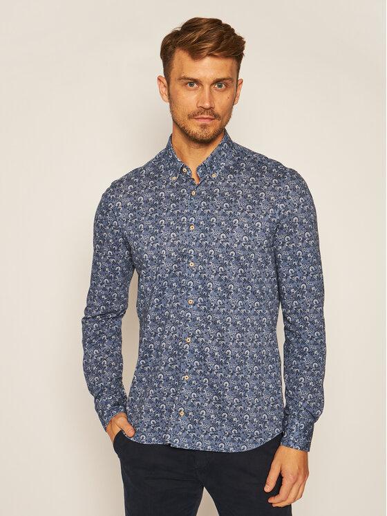 Baldessarini Marškiniai Brad 51000/0014 Tamsiai mėlyna Regular Fit