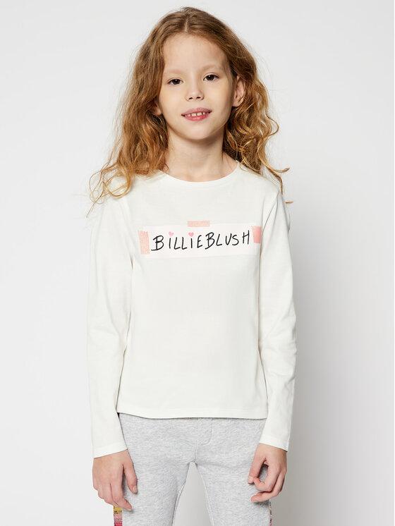 Billieblush Billieblush Bluzka U15803 Biały Regular Fit