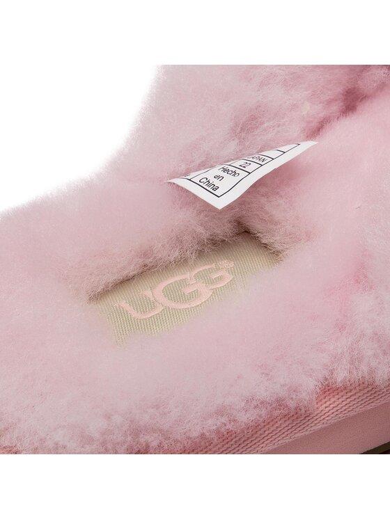 Ugg Ugg Kapcie W Fluff Flip Flop III 1100250 Różowy