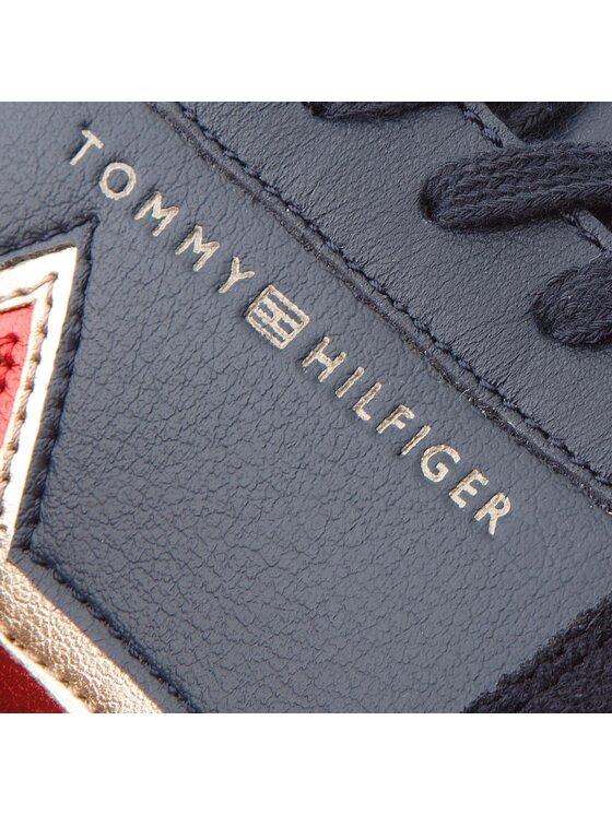 Tommy Hilfiger Tommy Hilfiger Sneakersy Star Retro Runner FW0FW03234 Tmavomodrá