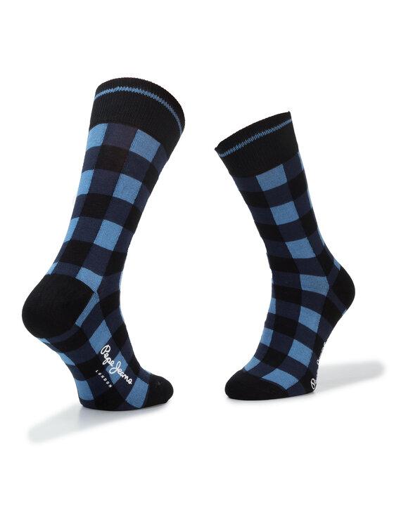 Pepe Jeans Pepe Jeans Комплект 5 чифта дълги чорапи унисекс Radnor PMU10574 Черен