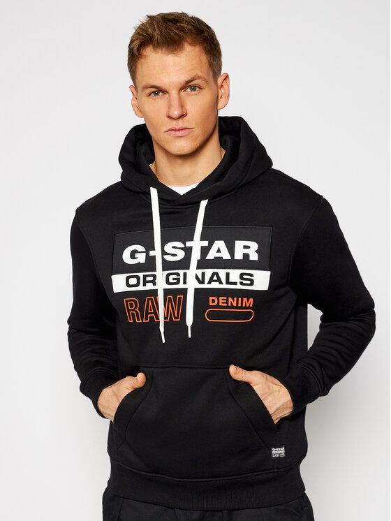G-Star Raw Džemperis Ashor D18239-A971-6484 Juoda Regular Fit