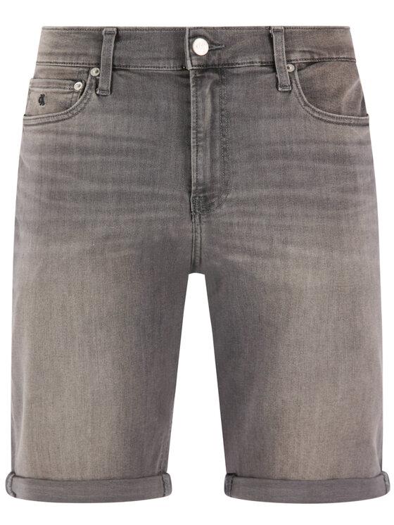 Calvin Klein Jeans Calvin Klein Jeans Jeansshorts J30J314649 Grau Slim Fit